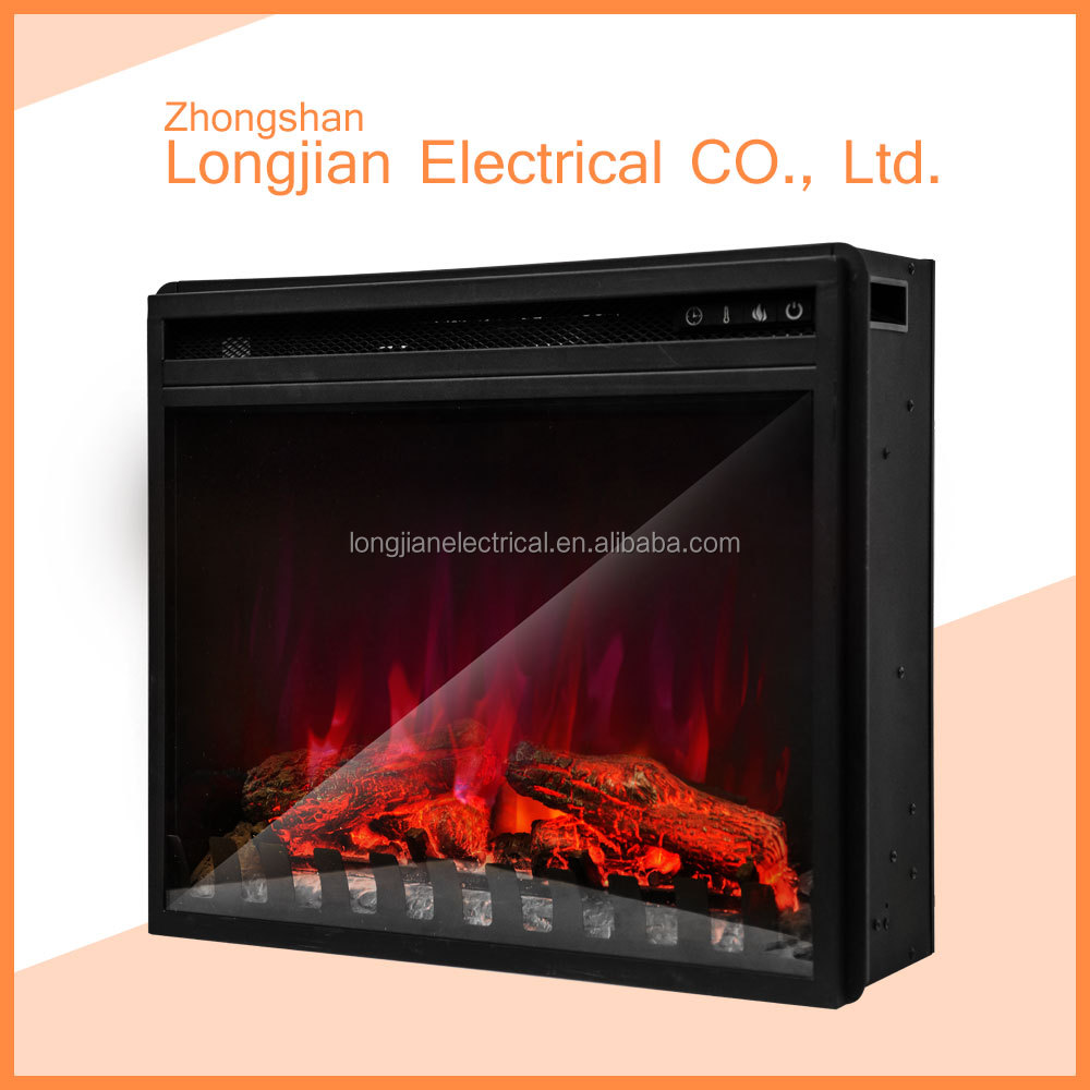 120V 3 color frame indoor electric insert fireplace with CE certificate LJIF2501E