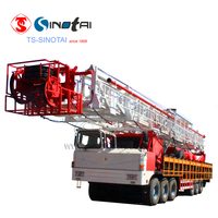 Hot sales!API oilfield ZJ20 truck-mounted drilling rig &workover rig