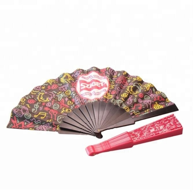 Custom Logo Advertising Plastic Hand Folding Fans - Buy Hand Held Folding  Fans,Custom Printed Folding Hand Fan,Big Hand Fans Product on Alibaba.com