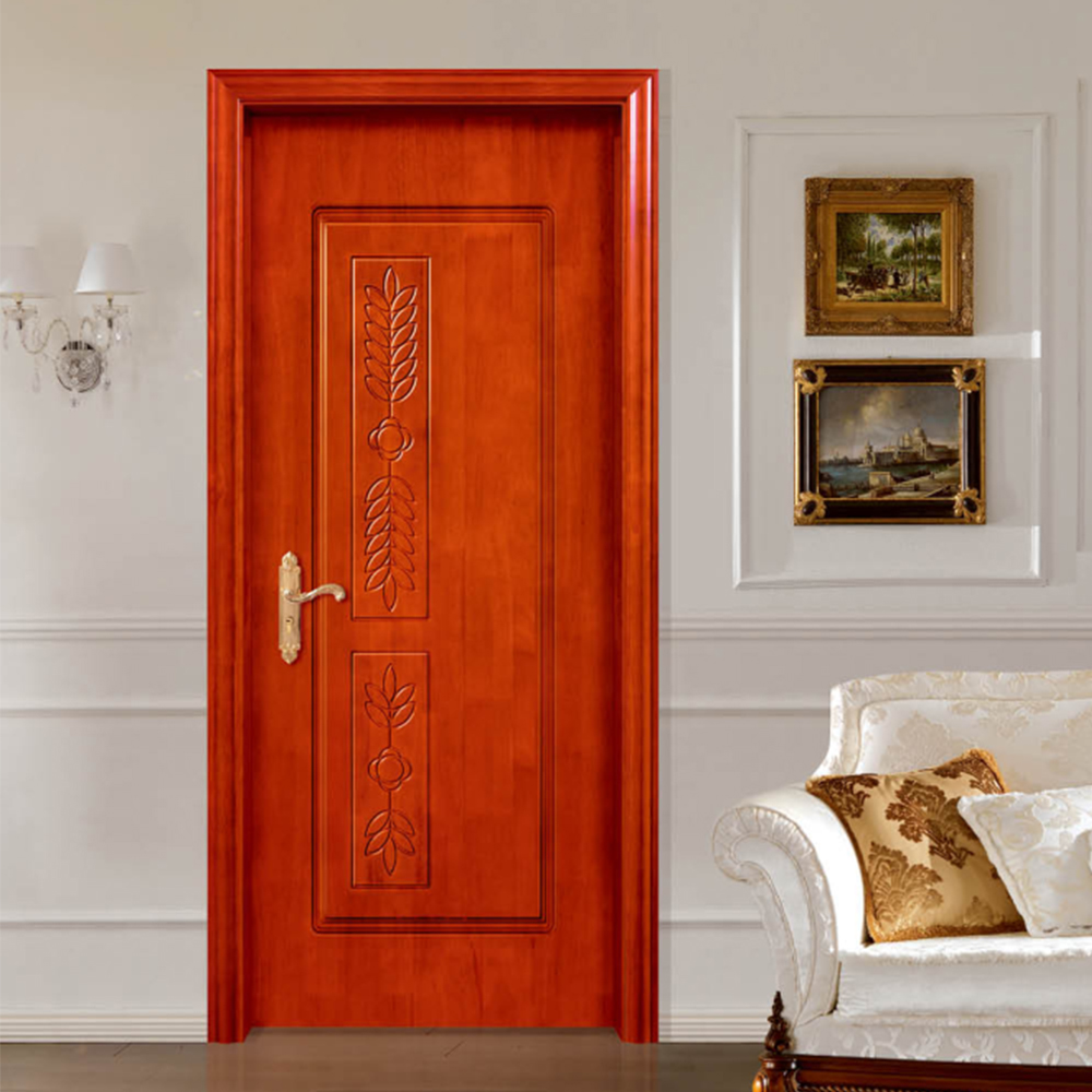 HS-SF30 Thai Oak flush solid wooden <strong>door</strong> malaysia price