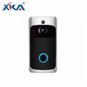 Battery Powered Wifi Visual Security Waterproof Wireless Video Doorbell Intercom