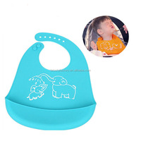 Wholesale Personalized Silicone Baby Bibs