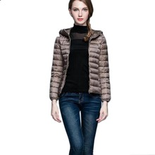 China wholesale custom outdoors warm heating down padded quilted down women ski jacket women