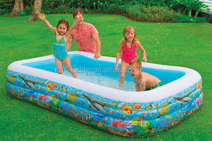 Hot Sale Hard Plastic Swimming Pools Small Pool Easy Carry Swimming Pool