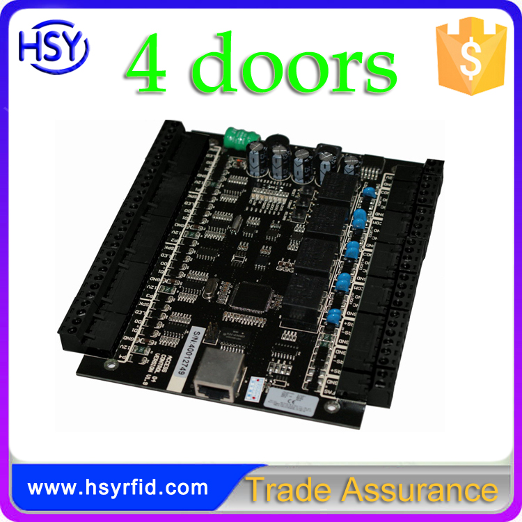 HSY-04 Software and SDK 4 Doors Network Access Control Panel /Board