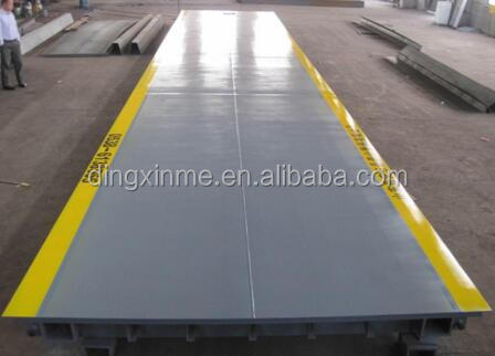 High Quality 60T Weight Bridge for Rice Mill Plant