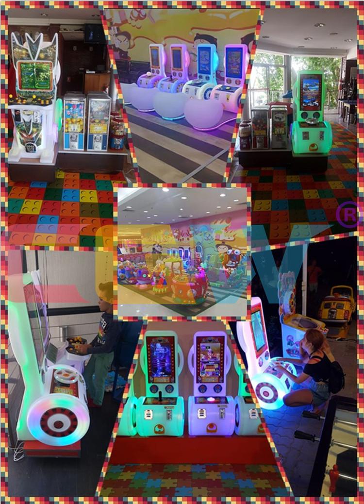 CGW Guangzhou Münz-Arcade-Spiele Maschinensätze, Aracde-Spiele Maschinenteile, Arcade-Spiele Car Race Game