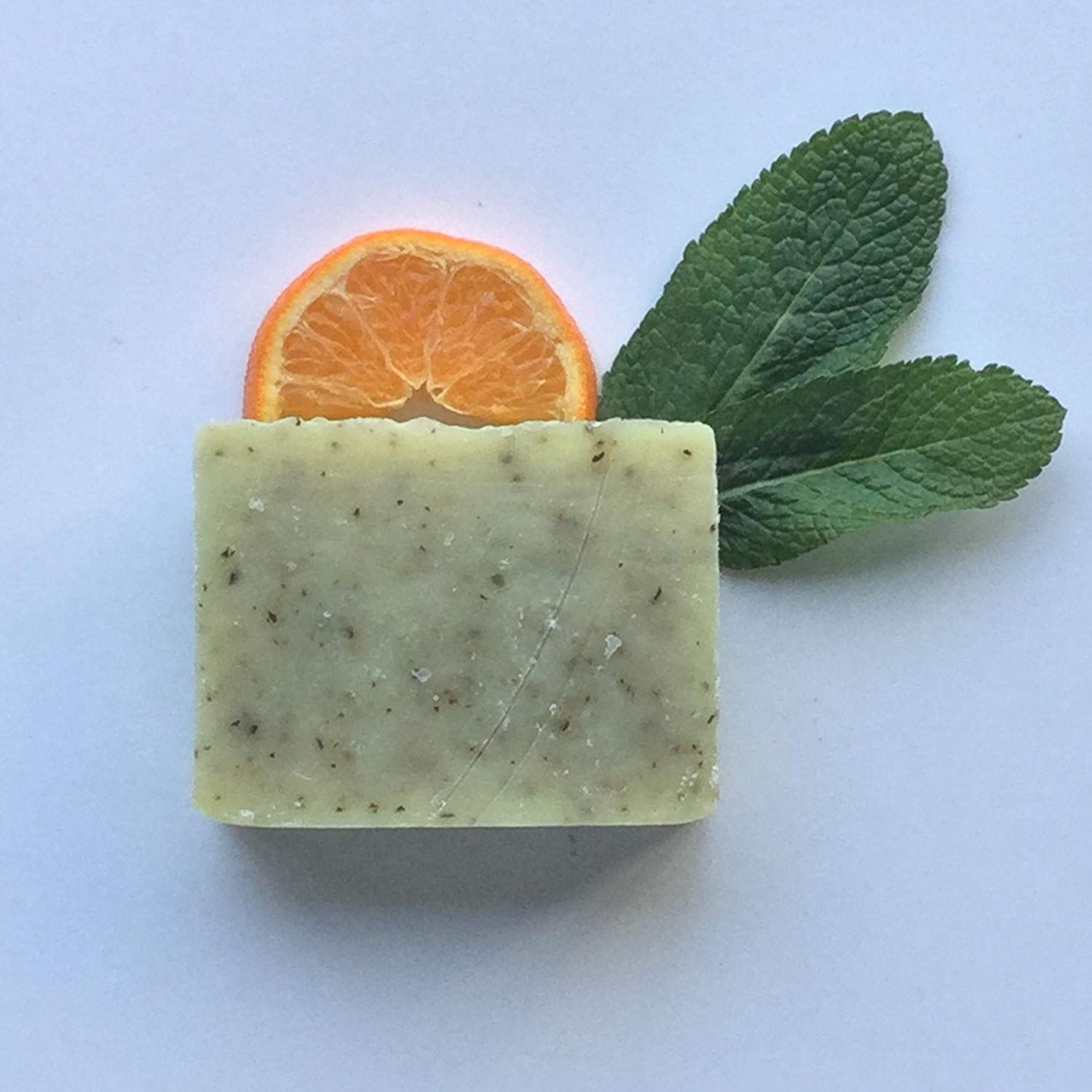 Orange You Sassy! Soap, Handcrafted, Organic Ingredients, 100% Natural, Orange, Spearmint, Vegan, Essential Oils, Handmade in small batches by The Willow Grove