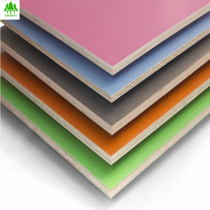 white melamine paper faced laminated plywood for furniture use