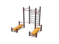 adults fitness outdoor street workout equipment for public park