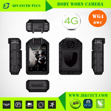Built in GPS WIFI bluetooth 120degree 3G 4G body worn video police camera live streaming video in computer
