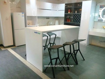 Corian Furniture Acrylic Solid Surface Dining Room Dining Table