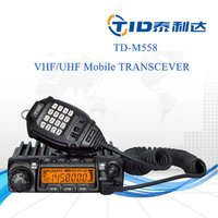 20w/50w/60w vhf uhf quad band two way mobile radio transceiver