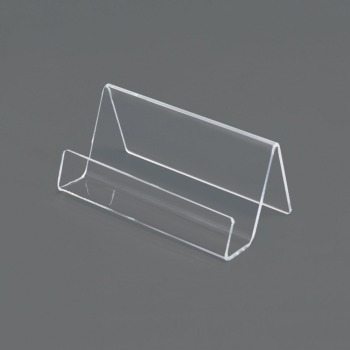 clear acrylic business card display stand plexiglass name card holder buy clear acrylic. Black Bedroom Furniture Sets. Home Design Ideas