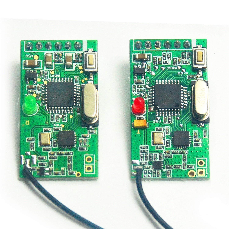 1 Pair 2.4GHz NRF24L01 Wireless Audio Transmitter & Receiver Module Digital Transceiver