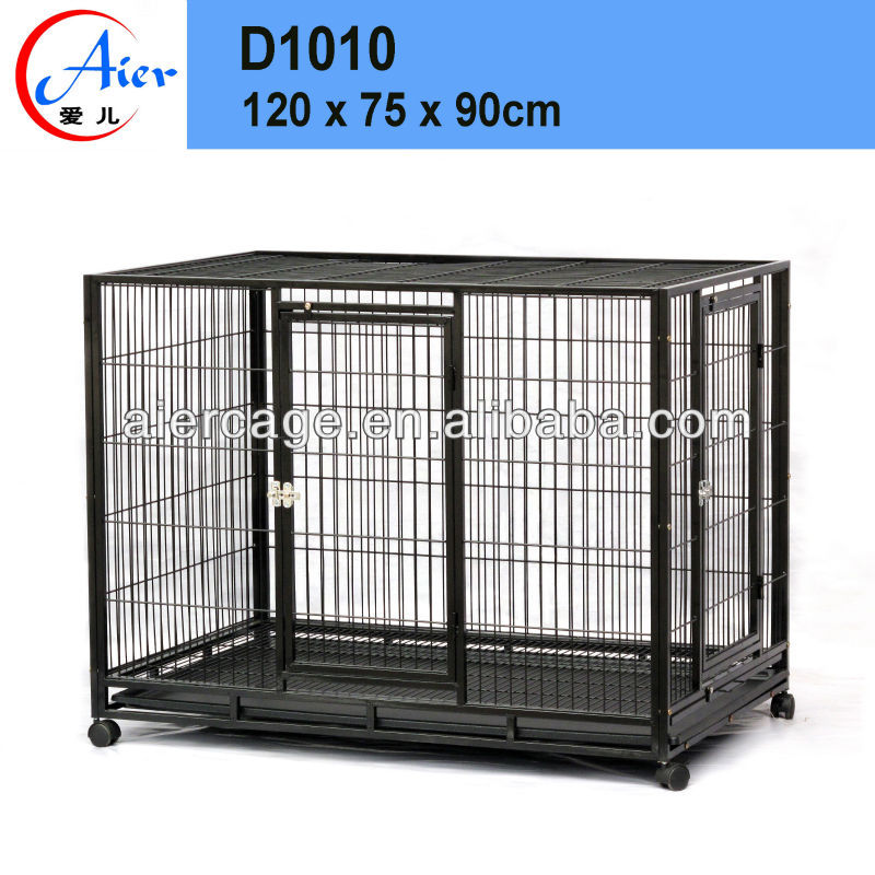 Factory supply metal dog cages Wrought Iron cages for dogs