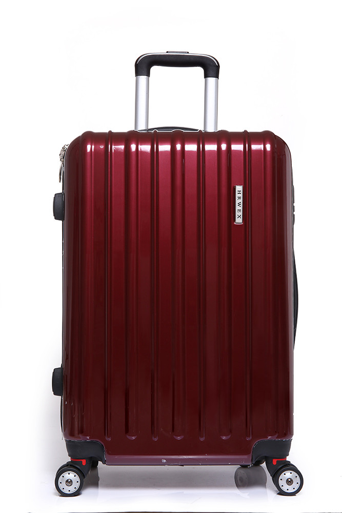 Lightweight Extremely Durable Plastic Travel Luggage Trolley Bag ...