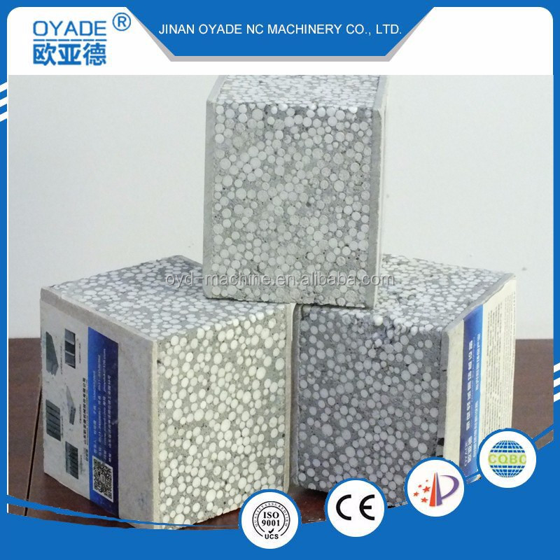 EPS lightweight Sandwich wall panel machine concrete foam equipment