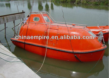 Solas Standard Totally Enclosed F.r.p. Free Fall Lifeboat