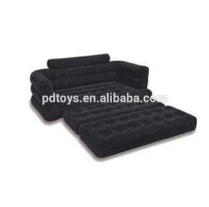 PVC folding inflatable air lounge sofa bed