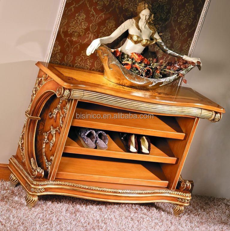 Luxe fran ais style baroque or bois sculpt armoire for Marque de meuble francais