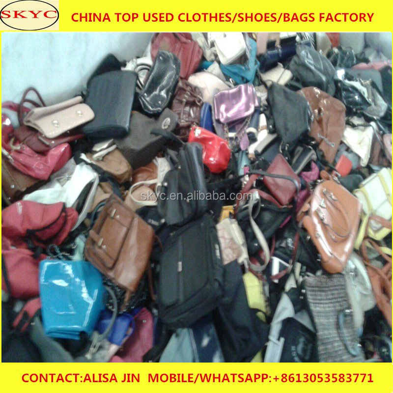 women used second hand leather used bags