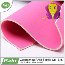 100 polyester waterproof breathable fabric SBR neoprene mesh fabric for saleused for bags swimwear shoes