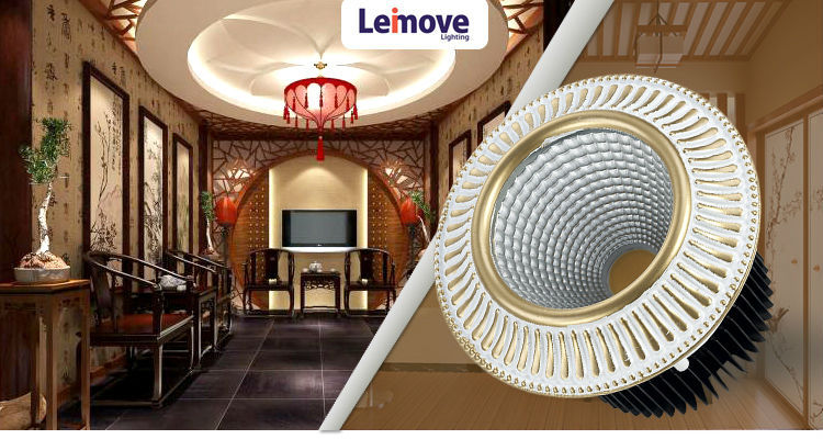 5w 10w 15w 95mm Cut Hole Cob Dimmable 3000k Led downlight