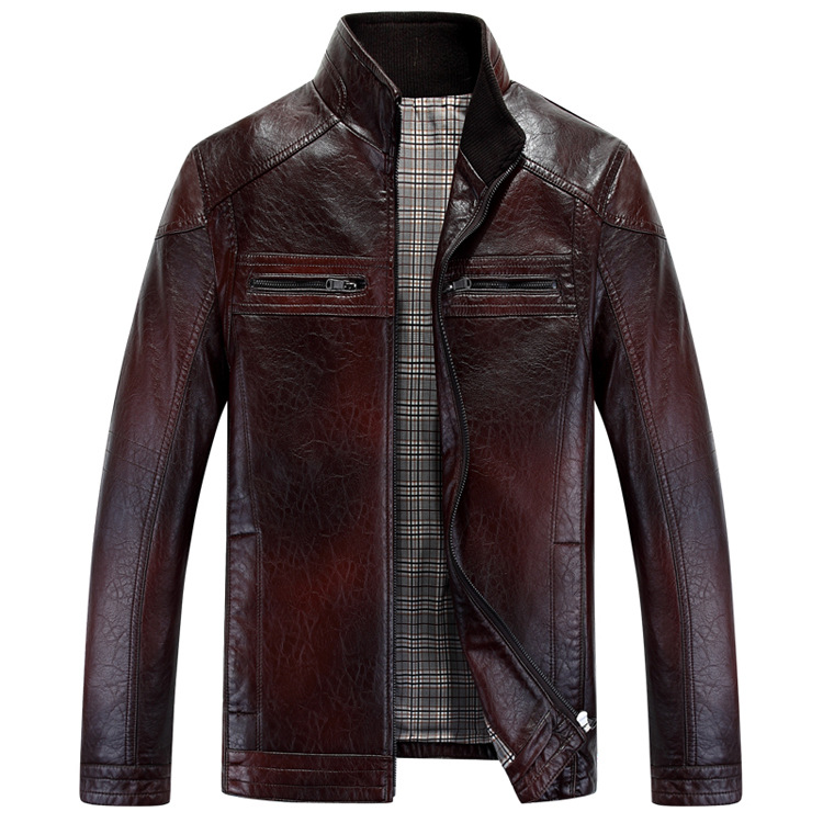 Pelle Pelle Jackets & Coats | Pelle Pelle Purple Leather Jacket | Color: Gray/Purple | Size: 16 % Real Leather Jacket In Really Good Condition. Only Problem Is .