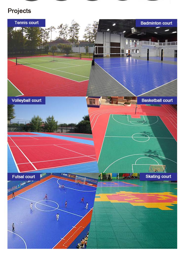 Rolschaatsen hof vloeren/basketbal vloermat
