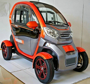 4 wheel Electric car 2 doors 2 seats radio half door or closed door