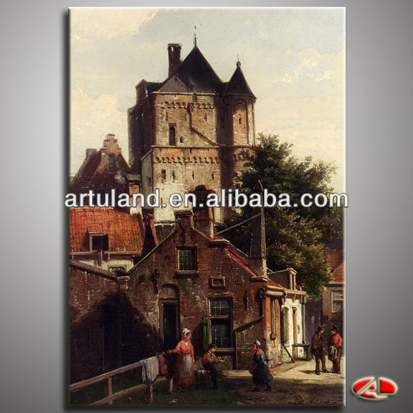 Dutch scenery oil painting designs