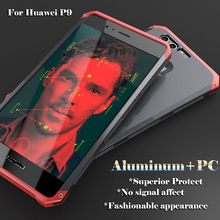Superior Protective Aircraft Aluminum Metal Phone Case for Huawei P9 Bumper Case