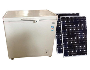 DC 12V 24V Top Open Single Door Fridge Ice Cream Refrigerator Solar Holiday Freezer Manufacturer