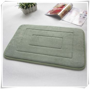 Ultra Thin Floor Mats Memory Foam Bath Mat Qinyi