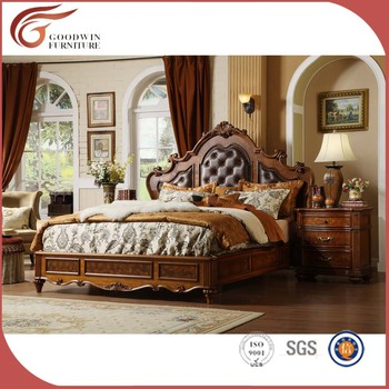 Luxury French Style Bedroom Furniture Set, Royal Furniture Bedroom Sets