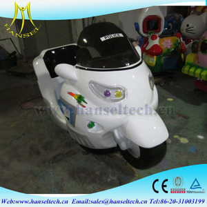 Hansel hot sale kids racing go cart motorcycle electric kiddie ride wholesale