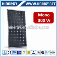 300w stereo garage solar modules wafer solar panels for home