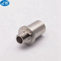 Precision Stainless steel CNC turned machining machinery auto parts drilling