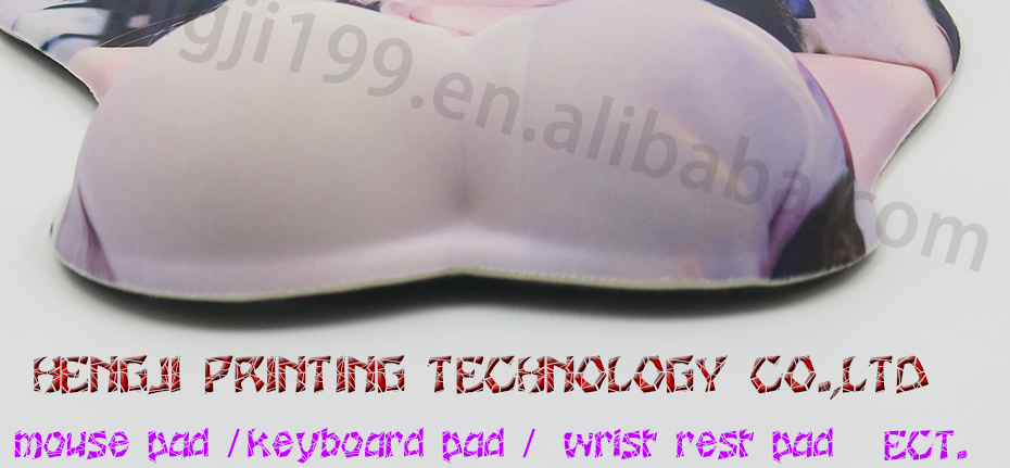 Asian AV women girl sexy pretty hot beautiful beauty hot Custom Design Big Breast Sexy silicon mouse pad