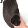 Double drawn wholesale price unprocessed human braiding hair bulk no weft