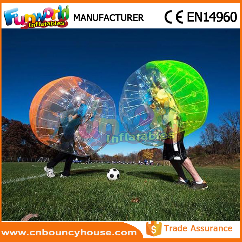 Inflatable Bubble Zorb Football bubble soccer game