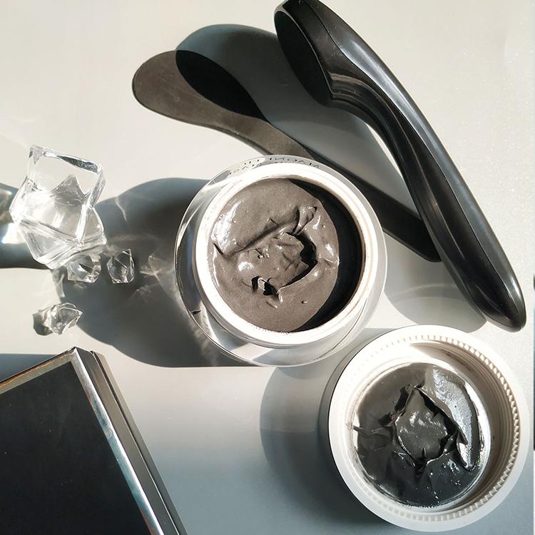Goed Ontworpen Concurrerende Prijs Zwart Glans Diepe Reiniging Magnetische Gezicht Modder Masker