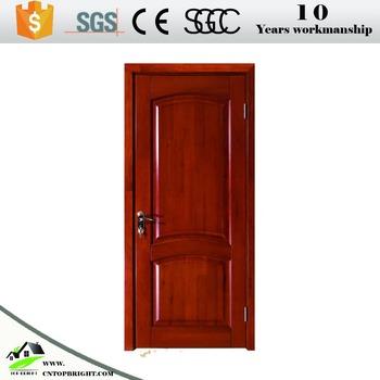 Wooden Internal Door 6 Panel Interior Doors With Frame Price