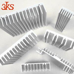 3KS tube any color for led/cpu High power extrusion large aluminum heat sink