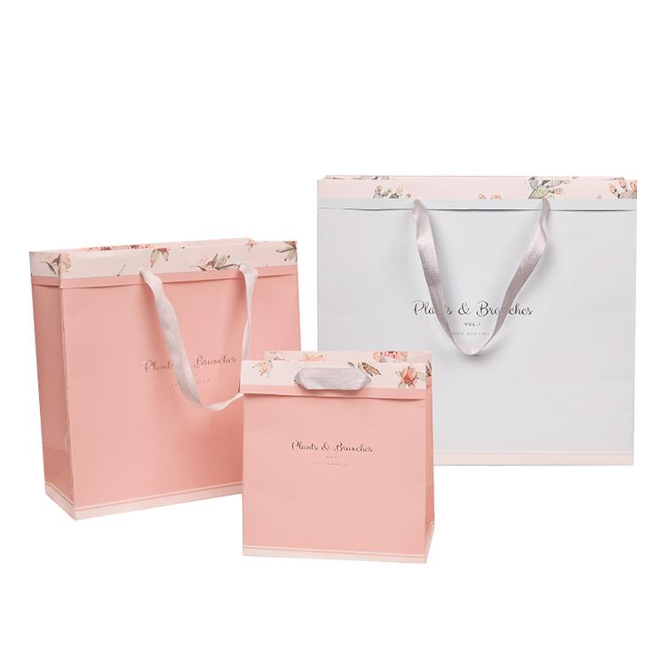 लक्जरी शॉपिंग बैग/क्राफ्ट पेपर बैग/उपहार पैकेजिंग बैग