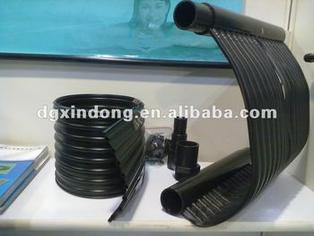 Black Rubber Diy Swimming Pool Solar Water Heater Buy Water Heater
