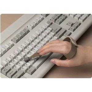 Slip-On Typing/Keyboard Aid - Large, Left