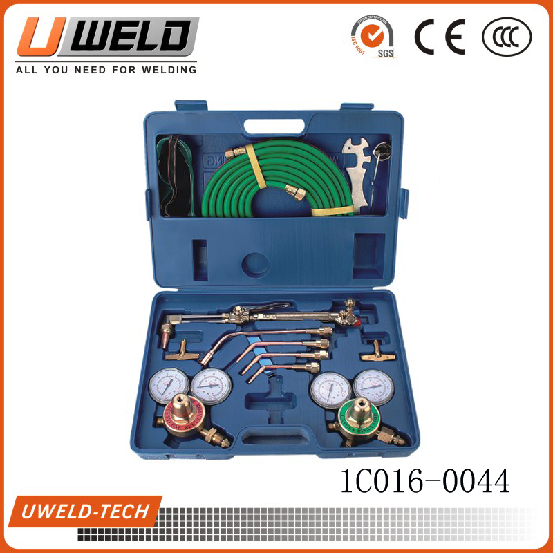 H-502 American victor style portable tool plastic case welding cutting kit UW-1502