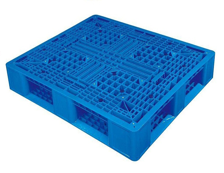 new product steel reinforced plastic pallet made in china